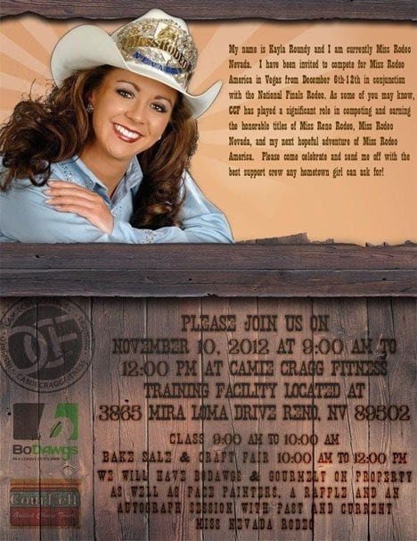 Miss Rodeo Nevada Feauted