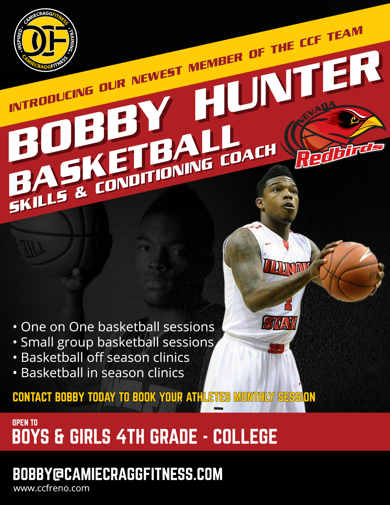 Bobby Hunter Basketball Trainer and Coach