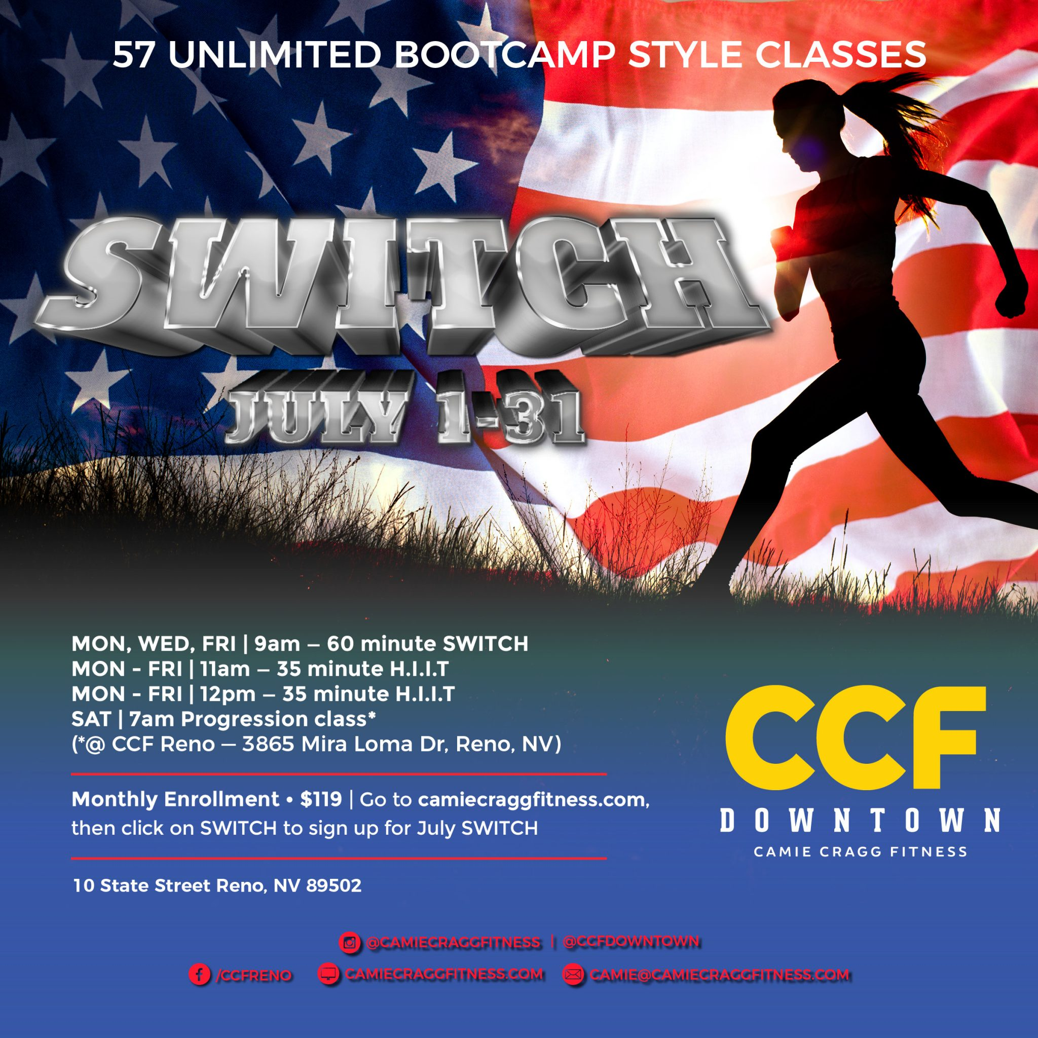 July Downtown S.W.I.T.C.H. Feauted