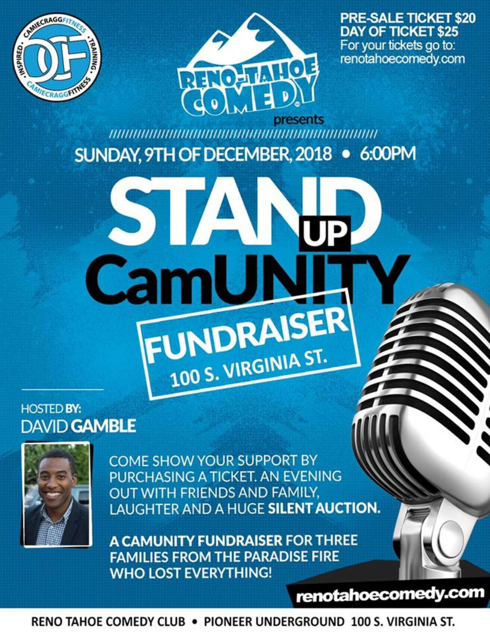 Stand Up CamUNITY Feauted