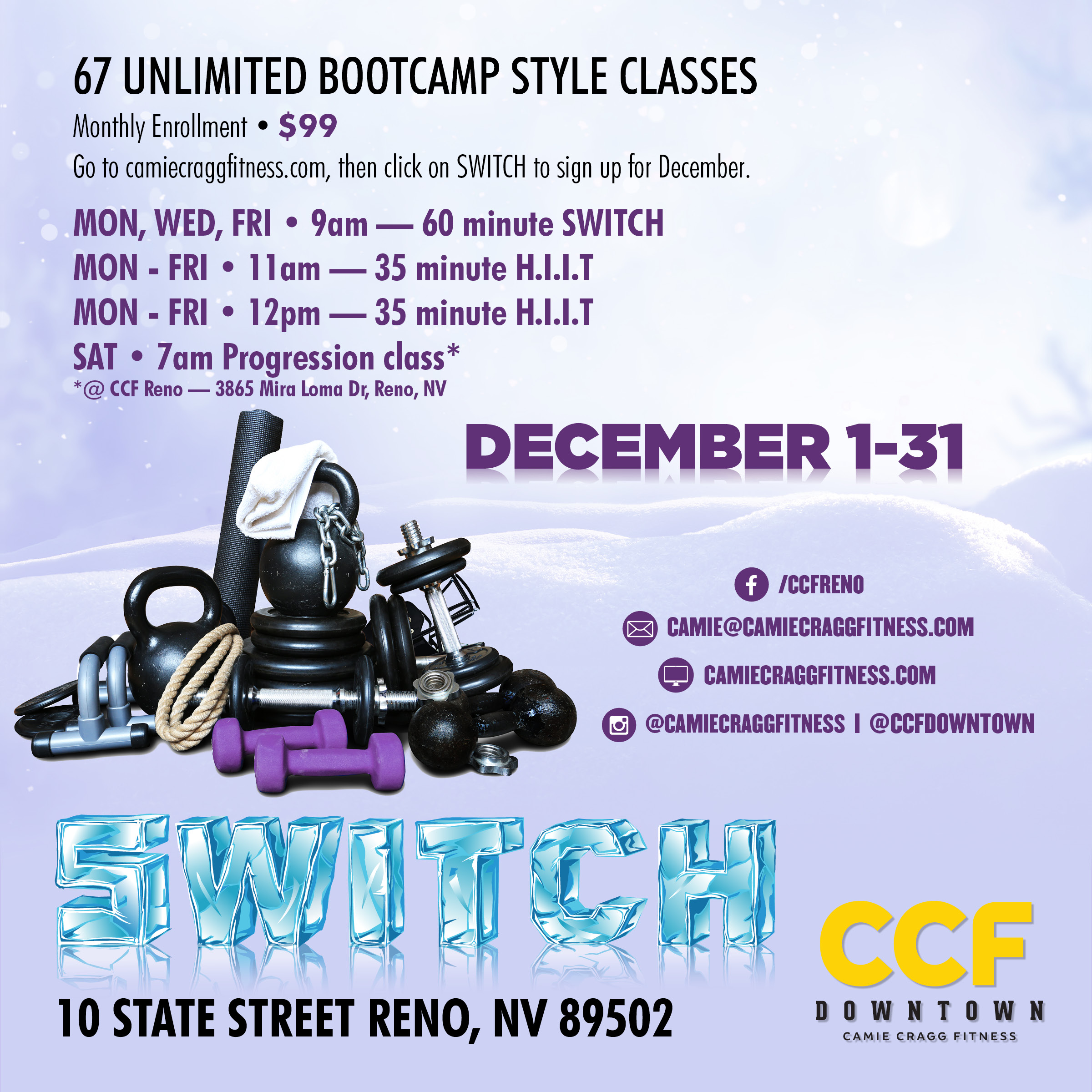 December Downtown S.W.I.T.C.H. Feauted