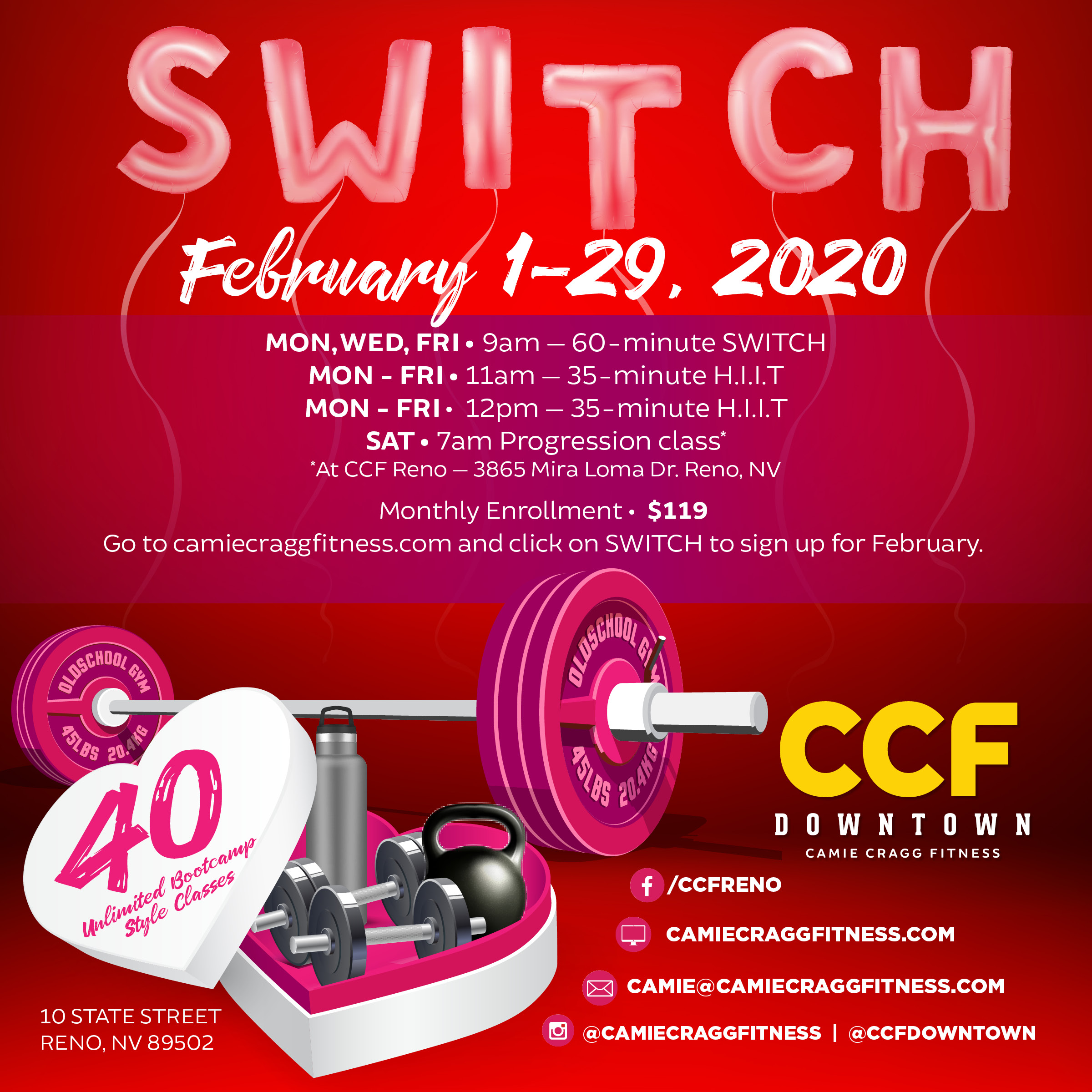 February Downtown S.W.I.T.C.H. Feauted