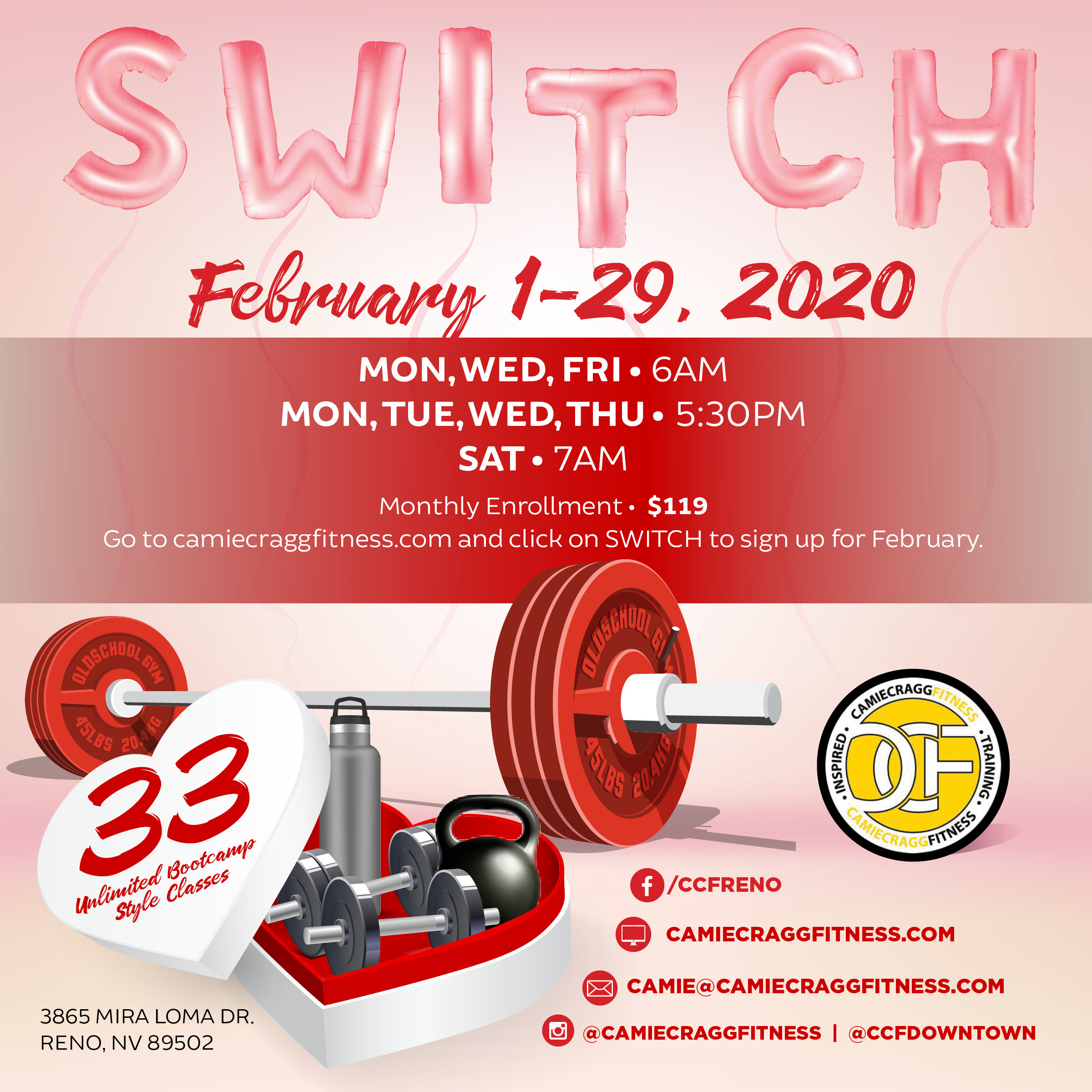 February S.W.I.T.C.H. Feauted